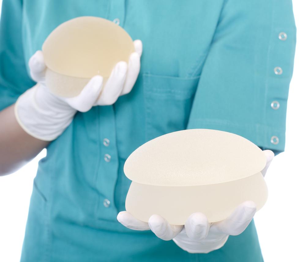 Prothèese en silicone et remplies de gel de silicone